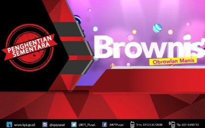 """KPI Hentikan Sementara Tayangan """"Brownis"""" Trans TV"""