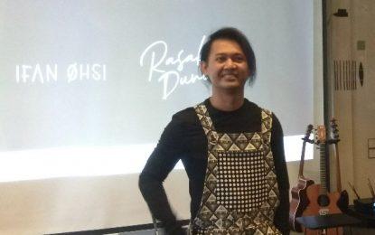 """Ifan Ohsi Menghadirkan Single Perdana """"Rasakan Dunia"""""""