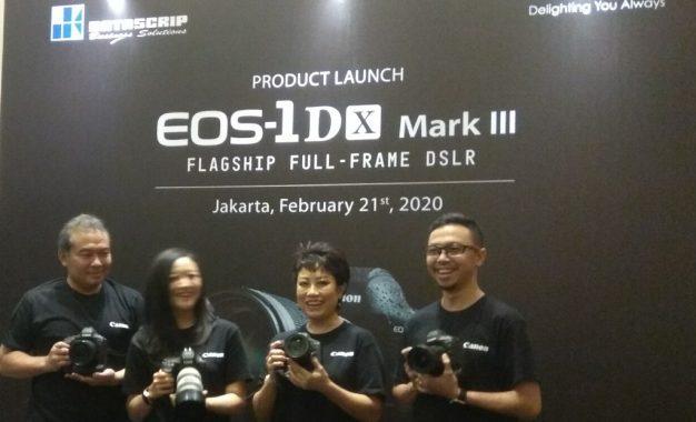 Canon Hadirkan EOS 1 D X Mark III  di Indonesia