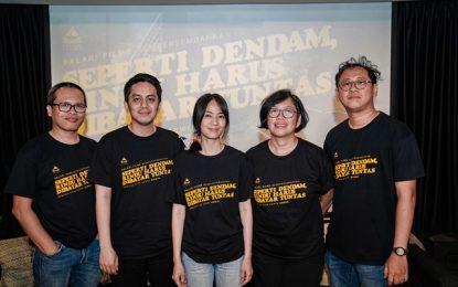 'Seperti Dendam, Rindu Harus Dibayar Tuntas', Film Adaptasi Novel Eka Kurniawan
