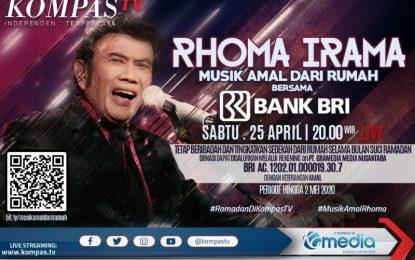 KompasTV Mempersembakan Konser Amal Dari Rumah Bersama Rhoma Irama