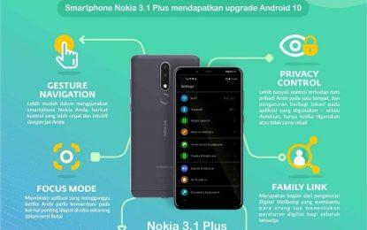 Nokia 3.1 Plus Tingkatan Android OS