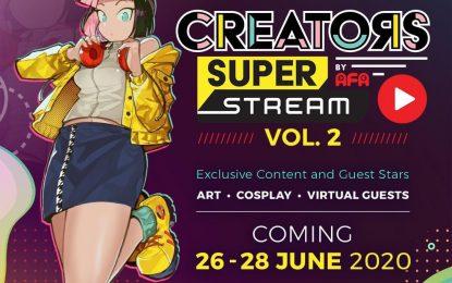 Creators Super Fest Vol. 2 Segera Hadir!