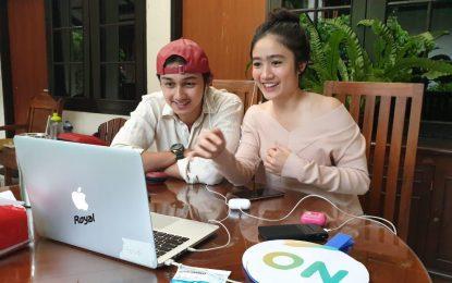 Rangkaian #3XTRAORDINA-RY SCTV Virtual Meet And Greet Magic Tumbler, Dari Jendela SMP dan Samudra Cinta Sapa Pemirsa Setia Surabaya