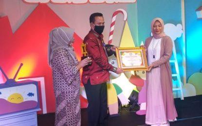 LPP TVRI Meraih Anugerah Televisi Ramah Anak 2020 dari KPI