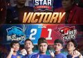 Super Intens, Boy William Lega Blue Rhinos Mampu Imbangi Red Tigers