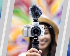 Canon EOS M50 Mark II, Kamera Mirrorless Praktis untuk Hasilkan Foto dan Video Berkualitas Prima