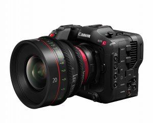 Canon EOS C70, Kamera Sinema Mount RF Berbodi Ringkas