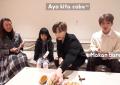 SHINee pun Cicipi Cireng dan Cilok ala Kimbab Family