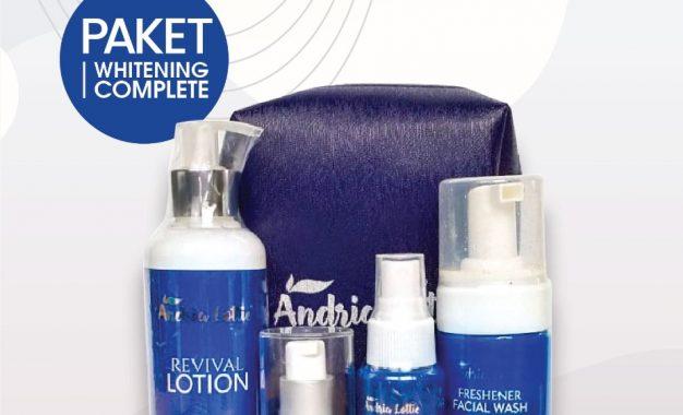 Andria Lottie Berikan Promo Paket Skin Care Lewat Penjualan Online
