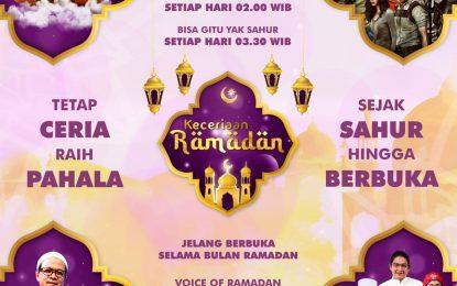 Sambut Ramadan dengan Penuh Keceriaan Bersama GTV