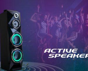 Speaker PAS 8SCA22  Didukung Teknologi Animated Light 8 Color