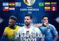 """Laga """"Copa Amerika 2021"""" Tayang Di Indosiar"""