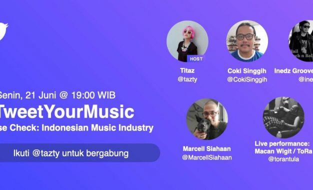 Bincang Musik Indonesia Hari Ini ala Twitter