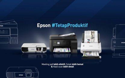 Tiga Produk Esensial Epson untuk Tetap Produktif