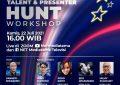 NET. Gelar Workshop Virtual & Ajang Mencari Bakat NET. PRESENTER & TALENT HUNT