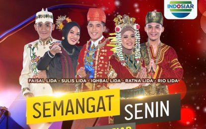 Semangat Senin Indosiar Bersama 5 Besar Juara LIDA 2021