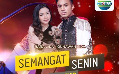 Semangat Senin Indosiar Bersama Rara LIDA dan Gunawan LIDA